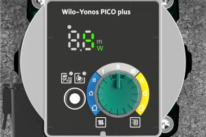 """Einfacher Austausch mit der neuen """"Wilo-Yonos PICO plus""""."""