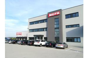 Der Neubau von Mefa.