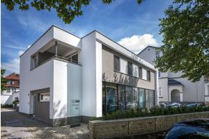 Das neue Büro- und Wohnhaus von Alexander Maier.