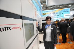 """""""Der Markt entwickelt sich sehr gut"""", berichtete Anita Hartmeyer vom Großhändler Krannich Group GmbH aus Weil der Stadt/Hausen."""