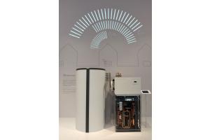 Die Luft/Wasser-Wärmepumpe WPL 19/24.