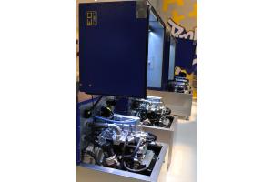 Eine Mini-BHKW-Anlage vom Typ XRGI.