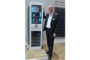 Sten Daugaard-Hansen präsentiert die Systemlösung  WDS 20.1.