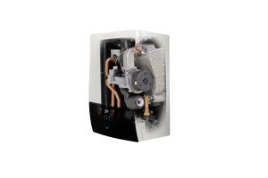 """Das automatisierte Verbrennungssystem """"Lambda-Gx"""" mit vollelektronischem Gas-Luftverbund ermöglicht die selbsttätige Anpassung an verschiedene Gasarten."""