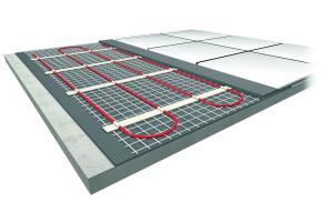 Die elektrische Fußbodenheizung steht in zahlreichen Varianten zur Verfügung. Häufig kommen Heizmatten zum Einsatz.