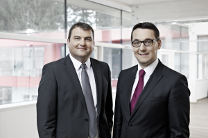 Die Inhaber von aqotec: Christian Plainer (links) und Christian Holzinger.