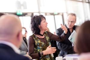 Christine Degenhart, Präsidentin der Bayerischen Architektenkammer.