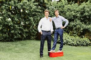 Tobias und Clemens Maurer.