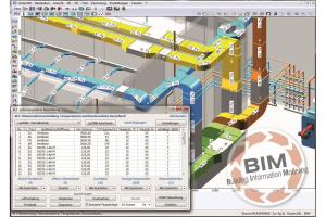 "Die 3D-CAD-Planungssoftware ""RUKON-TGA""."