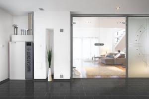 """Der """"Nano-PK"""" benötigt wenig Platz und fügt sich durch sein modernes Design optimal in jede Wohnung ein."""