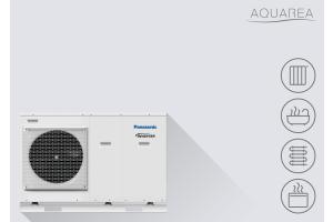 """Eine """"Panasonic Aquarea""""-Wärmepumpe."""