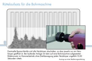 Magnetitschlammentfernung mit Rüttelvorsatz