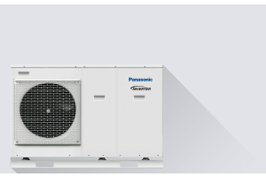"Die Wärmepumpe ""Panasonic Aquarea""."