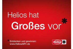 Werbung für Helios Ventilatoren.