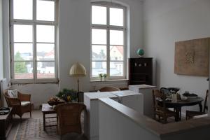 Ein Wohnraum in der neuen Senioren-Wohnanlage in Oldenburg.