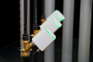 "Ventile der Sanitär-Automation ""Hycleen Automation System""."