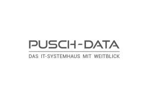 Das Logo von Pusch-Data.