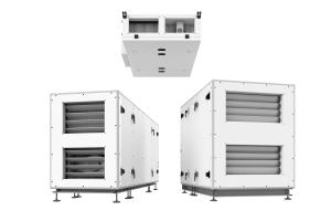 """Lüftungsgeräte der Serie """"Helios AIR1""""."""