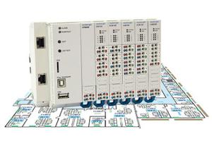 """Die digitalen und analogen Module des """"OR1"""" von Neuberger liegen mit Signalen für 0-10 V, 4-20 mA, Ni1000 oder PT1000 vor."""
