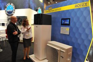 Die Wärmepumpe HPSU compact Ultra von Rotex Heating Systems .