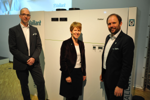 Die Luft/Wasser-Wärmepumpe recoCompact exclusive von Vaillant.