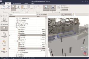 Modell eines Gebäudes in CAD.
