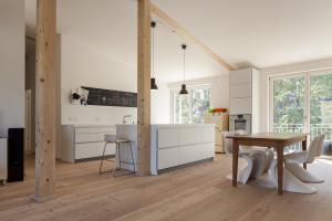 """Eine Wohnung im Mehrfamilienhaus  """"NESt4""""."""