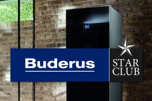 """Werbebild für den """"Buderus Starclub""""."""