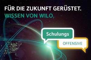 Werbebild zur Wilo-Schulungsoffensive.