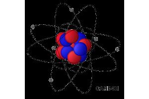 Die Grafik zeigt ein Kohlenstoff-Atom.