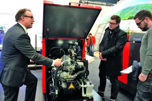 Das ELW 20-43 von Remeha produziert 20 kW elektrische und 43 kW thermische Leistung, modulierbar auf 50 Prozent der Leistung.