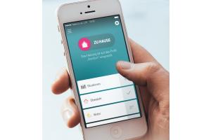 """""""Qivicon""""-App auf einem Smartphone-Bildschirm."""
