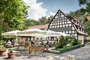 Die Springbach-Mühle in Bad Belzig.