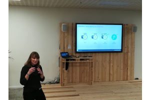 "Melanie Ihlenfeld im Grundfos-""Digital transformation office""."