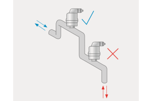 """Der richtige Helfer am  richtigen Ort: Großentlüfter, wie der """"Spirotop"""", sollten am höchsten Punkt installiert werden."""