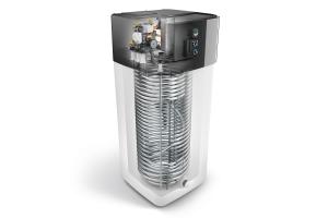 "Eine ""HPSU compact Ultra""-Wärmepumpe."