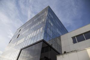 Die Firmenzentrale des Instituts Allergosan.