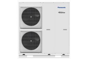 """Panasonic T-CAP"" Monoblock Wärmepumpe."