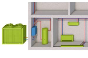 Schema einer Hydraulikbox vom Kampmann.
