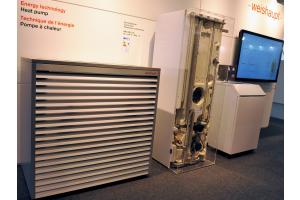 Luft/Wasser-Wärmepumpe Biblock WWP LB