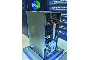 Das Brennstoffzellen-Heizgerät Bluegen BG-15.