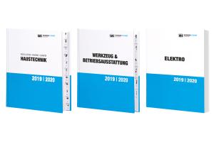 Drei Kataloge von Weinmann und Schanz.