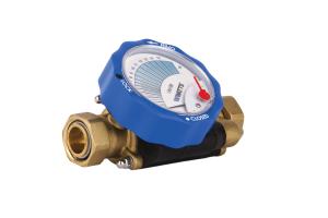 """Das statische """"CF""""-Abgleichventil ermöglicht einen einfach ablesbaren hydraulischen Abgleich. Vorteil des Ventils: Es benötigt nur 15 Sekunden zum Einstellen."""