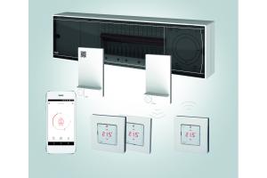 """Die Komponenten der digitalen Systemsteuerung Danfoss-""""Icon""""."""