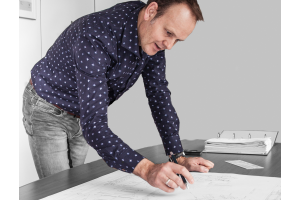"""""""Überall dort, wo es einen Mehrwert bot, kam BIM zum Einsatz. Wir haben aber auch traditionelle Zeichnungen erstellt, um es den Arbeitern auf der Baustelle leichter zu machen"""", erklärt Bart van Duin."""