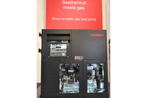 Yanmar Energy Systems legte einen Fokus auf Gasmotorwärmepumpen.