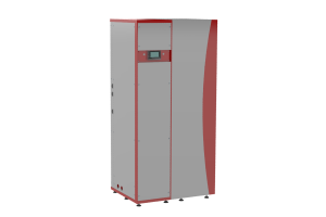 """Eine Hochtemperatur-Wärmepumpe """"WP Grid-HiQ CF 06""""."""