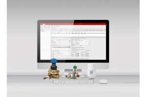 """Die """"DanBasic"""" Berechnungssoftware auf einem Computerbildschirm."""
