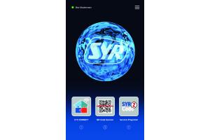 Screenshot aus der SYR-App.