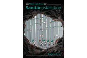 """Cover des """"Kleinen Handbuchs der Sanitärinstallation - Rohrsysteme""""."""